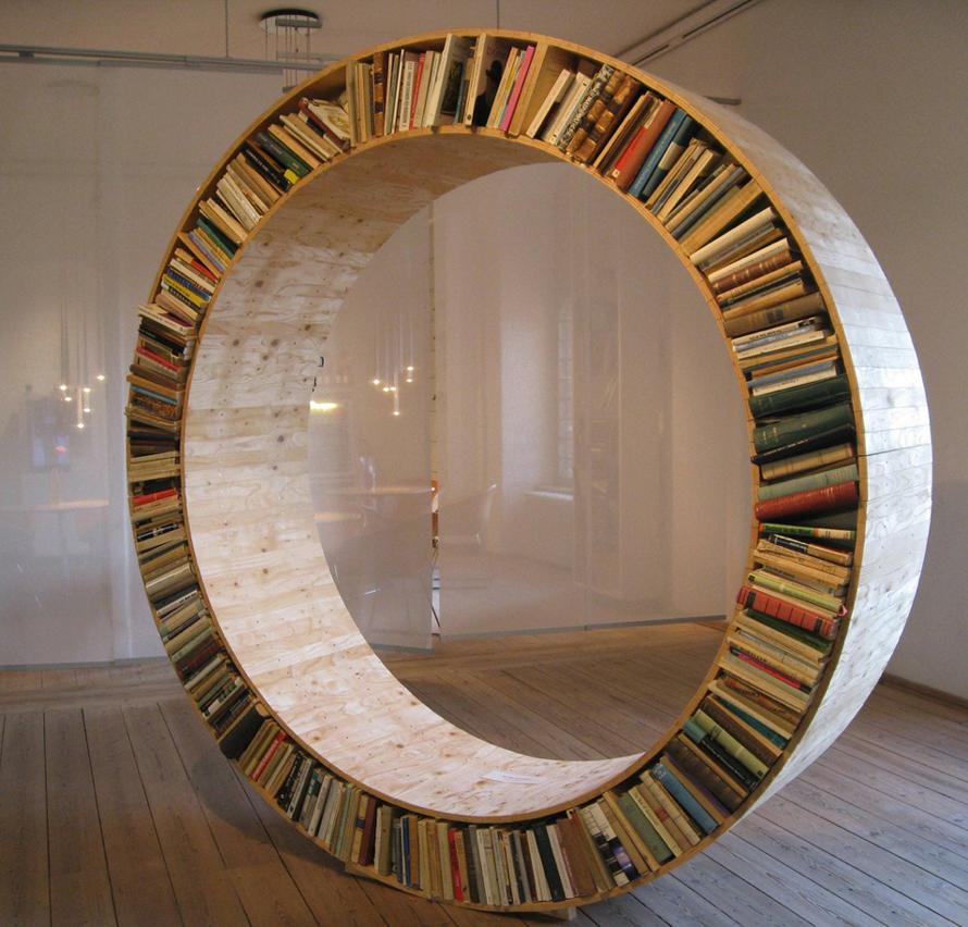 new concept a99af 86ffe Circular bookshelf | Frances Quinn
