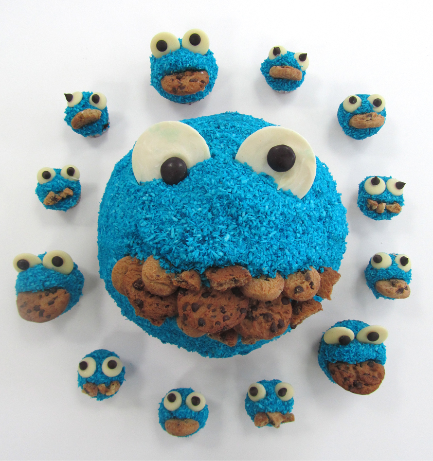 Cookie Monster O'Clock