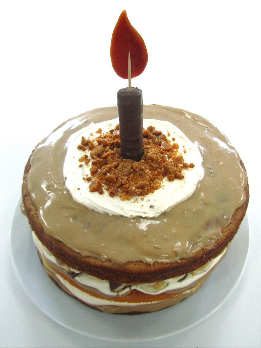 banoffee twix cake