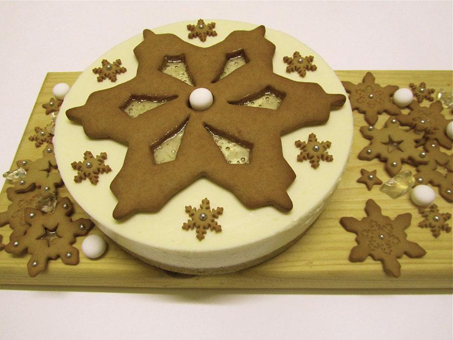 snowflake cheesecake 2