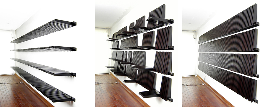 piano shelves
