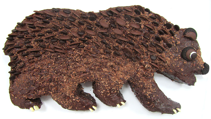 FQ CHOCOLATE BEAR CAKE blog