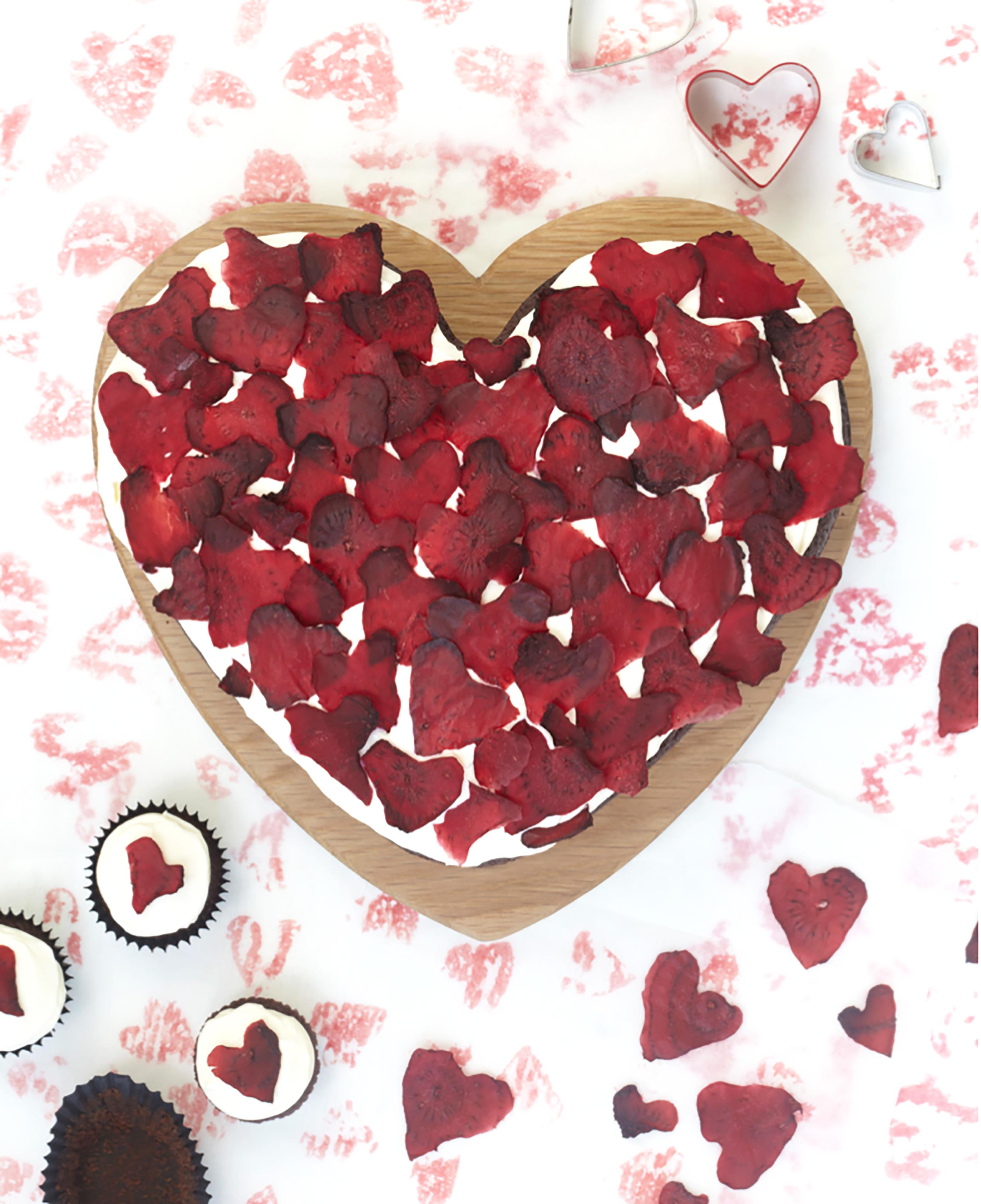 beetroot heart