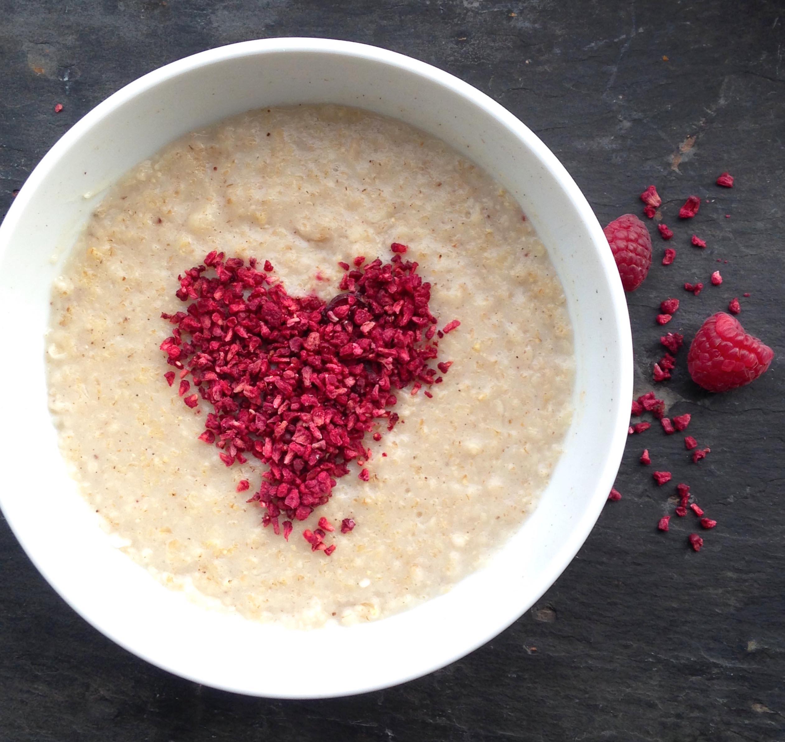 heart porridge