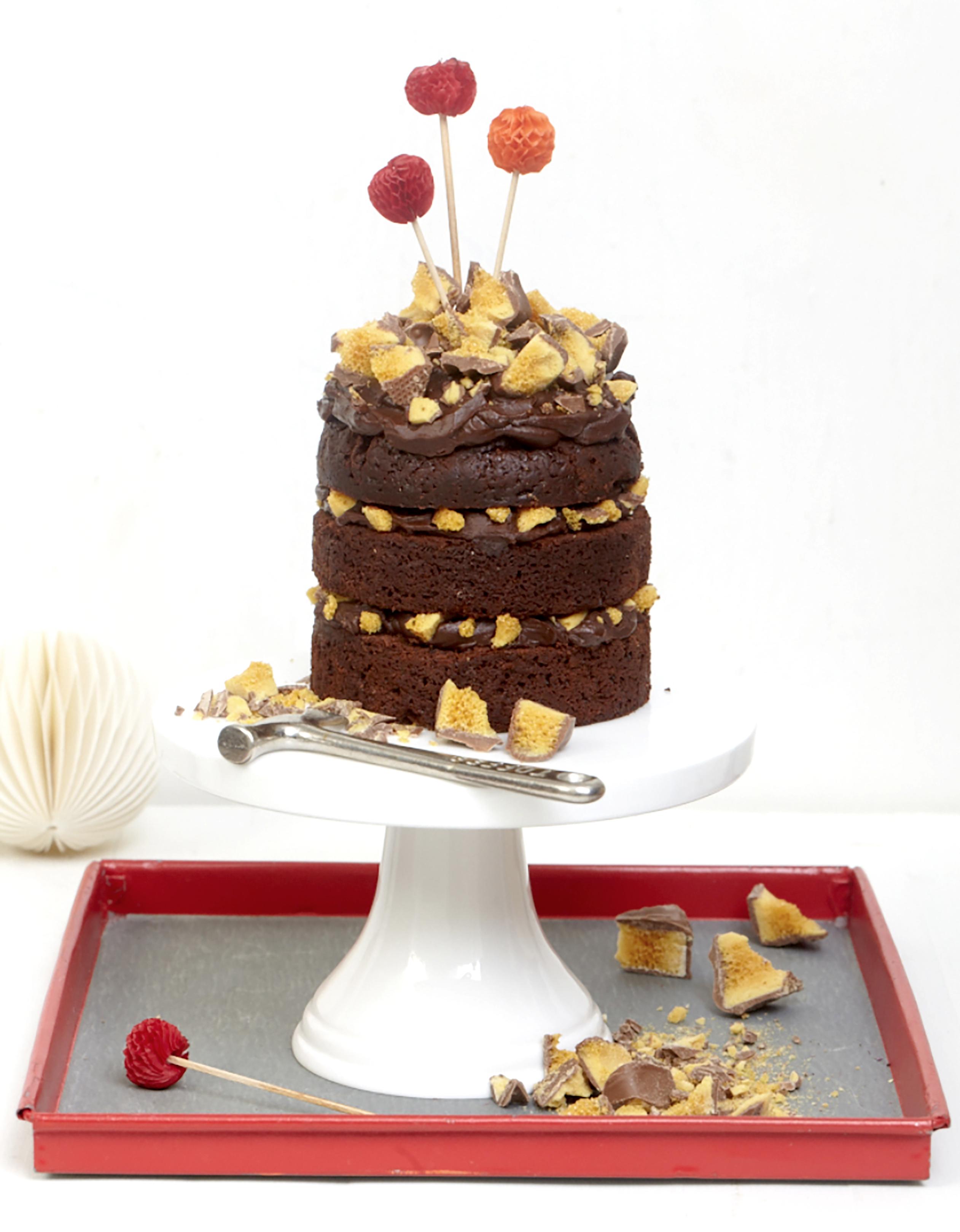 crunchie-cake